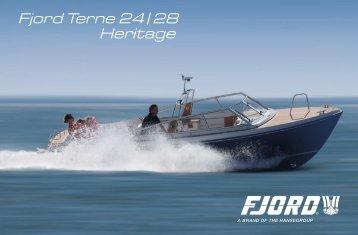 Fjord Terne 24|28 Heritage - Fjord Boats UK