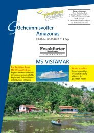 Programm Amazonas - Frankfurter Neue Presse