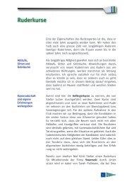Stüürbord Ausgabe 2012-02 - Seeclub Stäfa