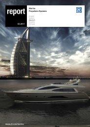 report 2.2011 - Deutsch (PDF, 1,0 MB) - ZF Friedrichshafen AG