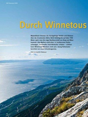 Durch Winnetous Bleiche Küstenberge - Deutscher Alpenverein
