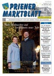 Priener Marktblatt - RIEDER Druckservice