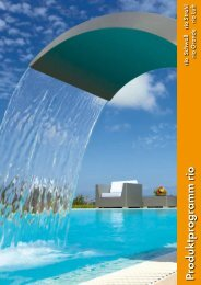 Produktprogramm rio - Euro-Pool