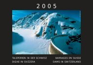 Talsperrenkalender 2005 - Swiss Committee on Dams