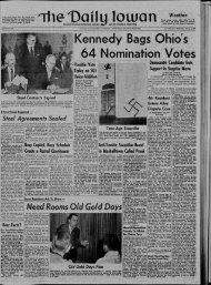 January 6 - The Daily Iowan Historic Newspapers - University of Iowa