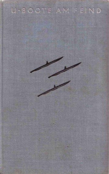 Langsdorff, Werner von - U-Boote am Feind (1937) - buddymag.cz