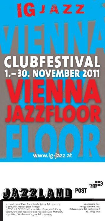 JAZZFLOOR - IG Jazz Wien
