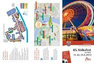 Download Programmheft 2012 - Volksfest Aschaffenburg