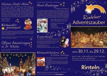 Infos - Stadt Rinteln