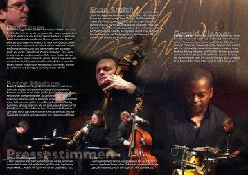 Mit Daniel Guggenheim, Gerald Cleaver, Peter ... - Laika Records