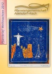 Pfarrbrief Weihnachten 2012 - Erzbistum Bamberg
