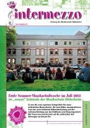 Percussion- Workshop - in der Musikschule Hildesheim