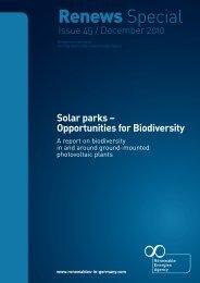 Solar parks - Agentur für Erneuerbare Energien
