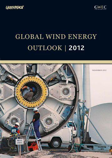 Global Wind Energy Outlook   Englisch - Greenpeace