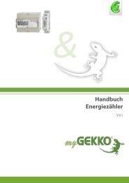 Handbuch Energiezähler - myGEKKO