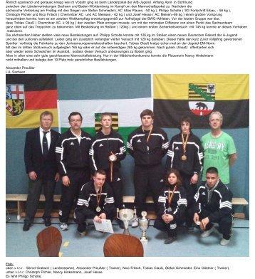 Deutsche Meisterschaft für Ländermannschaften der Jugend AB in