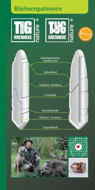 Brenneke-TIG-TUG-Nature-Geschosse - GEWI