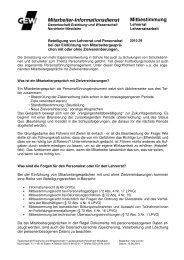 Mitarbeiter-Informationsdienst Mitbestimmung - Gewerkschaft ...