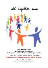 all together now - Gewerkschaft Erziehung und Wissenschaft