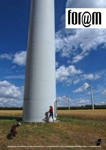 Ausgabe 4/2010 - Gewerkschaft Erziehung und Wissenschaft