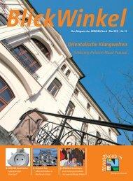 BlickWinkel Mai 2011 PDF-Datei - GEWOBA Nord