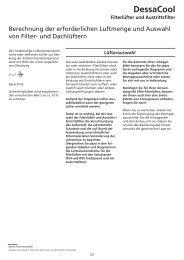 Filterlüfter, Dachlüfter, Lüftereinschübe und Innenlüfter - Geyer Gruppe