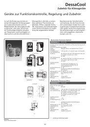 Hygrostate und Zubehör - Geyer Gruppe