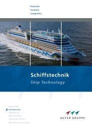Schiffstechnik - Geyer Gruppe