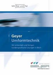Download - Geyer Gruppe