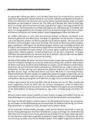 Das Ende des zweiten Weltkrieges in der Oststeiermark