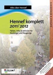 Hennef komplett 2011/2012
