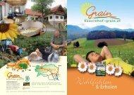 herunterladen - Urlaub am Bauernhof im Thermenland Steiermark