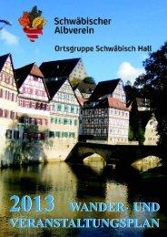2013 wander - beim Schwäbischen Albverein
