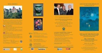 Flyer zur Ausstellung - Otfried Culmann