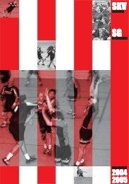 SKV Eglosheim, Handball, Saisonzeitschrift 2004/2005 - bei der SG ...