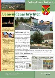 Gemeindenachrichten - Gemeinde Puchkirchen am Trattberg