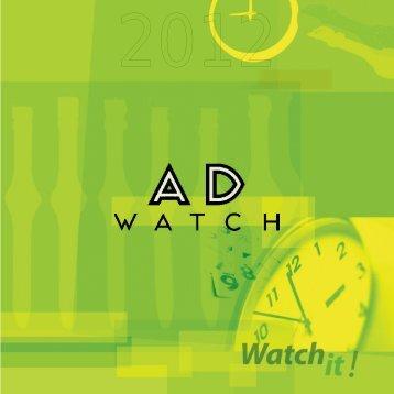 Adwatch - catalogue 2012