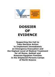 DOSSIER OF EVIDENCE - Gesellschaft für bedrohte Völker