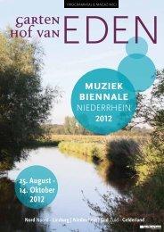 Garten hof vanEDEN - Muziek Biennale Niederrhein 2012