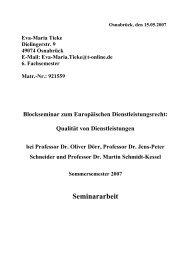 Die Berufsanerkennungsrichtlinie 2005/36/EG - European Legal ...