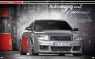Tuning Magazin Audi A4 - Audi 100 Coupé S