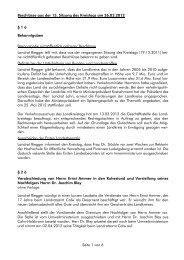 Beschlüsse aus der 15. Sitzung des Kreistags am ... - Landkreis Calw