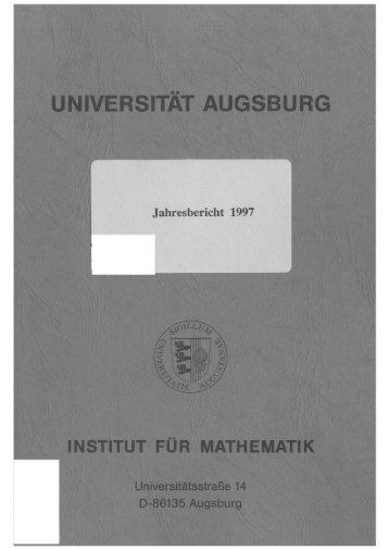 Dokument_1.pdf (8115 KB) - OPUS Augsburg - Universität Augsburg