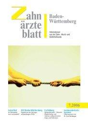 ZBW - Zahnärzteblatt Baden-Württemberg