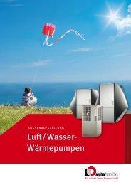 Luft/Wasser- Wärmepumpen - Alpha-InnoTec GmbH
