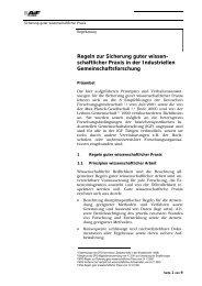 Regeln guter wissenschaftlicher Praxis - GfKORR