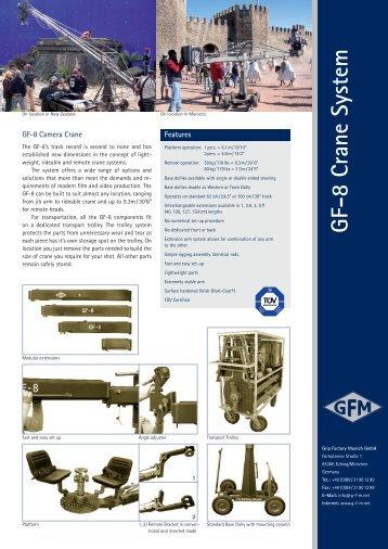 GF-8 Crane System - Panavision