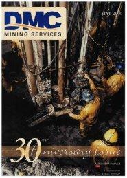 30th Anniversary Magazine - DMC Mining Services