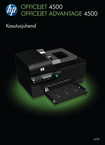 1 Alustamine - Hewlett-Packard