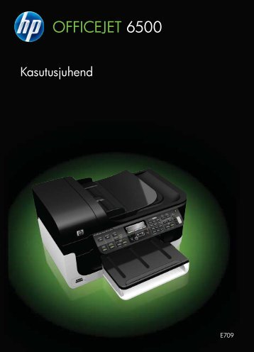 HP Officejet 6500 (E709) All-in-One Series User Guide – ETWW